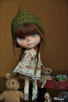 Nicole   custom blythe by Monica