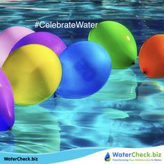 You are water. I'm water, we're all water in different containers; someday we'll evaporate together. #CelebrateWater www.watercheck.biz