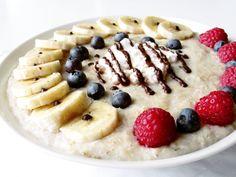 morning breakfast is oatmeal