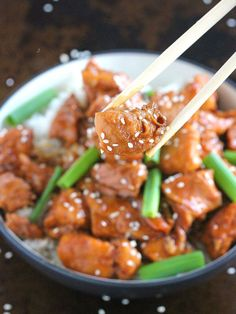 Instant Pot Mongolian Chicken takes just five minutes to throw into the pressure cooker and only 30 minutes to cook a flavorful, tender and juicy chicken!