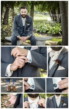 Wedding Board Ideas for the Groom on what to wear for your Ottawa summer wedding