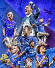 Everton football team under Duncan Ferguson Davies Digne Bernard Calvert Lewin Richarlison Iwobi