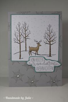 Stampin Up Weiße Weihnacht
