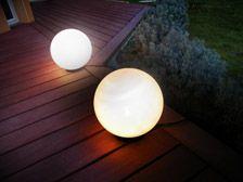 Easy Connect light balls Ball Lights, Pathways, Outdoor Lighting, Balls, Connection, Future, Garden, Easy, Future Tense