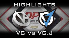 VG vs VG.J DPL 2017 Highlights Dota 2
