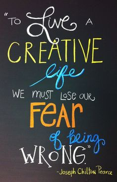 so true...i love this quote! On wall for new office?