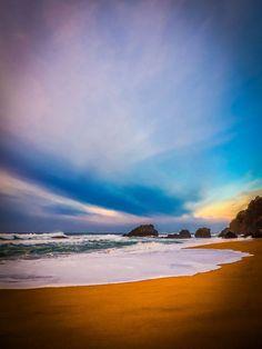 sunset in Adraga by ptdesignergrafico