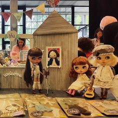 Our display. Ready to start! #blythecon #seattle | Flickr - Photo Sharing!