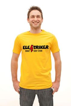 T-Shirts und Geschenke für Elektriker, die immer unter Strom stehen. Stichworte: Elektriker, Elektrik, Elektrisch, Strom, Techniker, Elektrotechniker, Elektrizität, Elektrikerspruch, Elektrikersprüche, Electrician