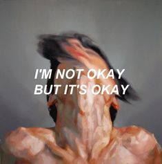 I'm not okay but it's okay. on We Heart It Sad Quotes, Life Quotes, Qoutes, Story Quotes, Boss Quotes, Deep Quotes, Random Quotes, Advertising Quotes, The Dark Artifices