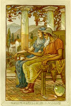 philemon & baucus, linden & oak