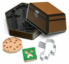 SET 5 MOLDES PARA GALLETAS MINECRAFT