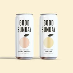 Good Sunday Packaging and Brand Identity - World Brand Design Society Juice Packaging, Beverage Packaging, Brand Packaging, Packaging Design, Product Packaging, Brand Identity Design, Branding Design, Identity Branding, Corporate Identity