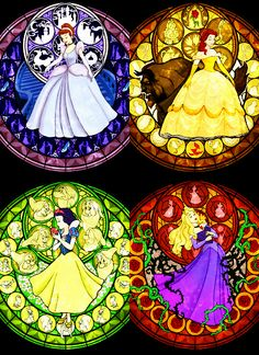 Stained glass princess!!