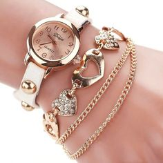 4Pcs//Set Fashion Circle Flèche Strass ouverture Bracelets Bracelet Set For Women