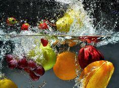 Como lavar frutas e vegetais