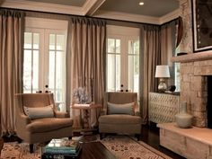 I want floor to ceiling drapes in the master bedroom