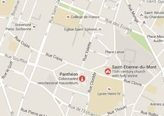 Within walking distance of the Sorbonne is another building that Jefferson admired, the Pantheon.