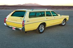 David Henriksen's lovingly-maintained survivor 1972 Dodge Monaco wagon is a one-of-a-kind performer with over miles on the clock. Dodge Wagon, Dodge Trucks, Rat Rods, Monaco, Station Wagon Cars, Sports Wagon, Dodge Chrysler, Chrysler Usa, Old Wagons