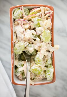 Chicken Waldorf Salad Cups with Spiralized Apples   President's Day Sale