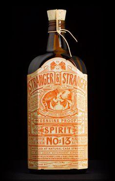 Stranger & Stranger's Spirit No.13 featured on Graphic Exchange Packaging !