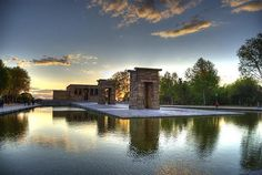 Madrid - Temple of Debod. So beautiful and just one of a million reasons why I want to go to Madrid!