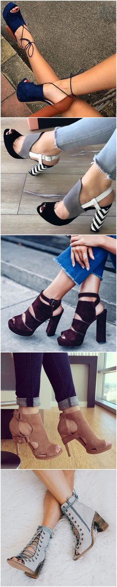 Check out these 35 stunning designer high heels that are trending hard on social media right now. You might also like 101 Stunning High Heels from Pinterest