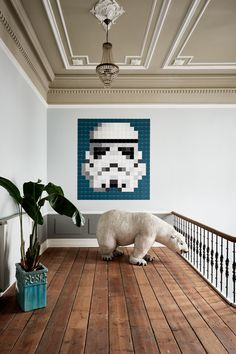 We present pixelated icons from the original Star Wars trilogy in a modern version. Join the elite soldiers of the Empire with this pixelated Stormtrooper. Enjoy your weekend! #IXXI #ixxiyourworld #Stormtrooper #StarWarsbyixxi #StarWars #TheForceAwakens #home #interior #inspiration #modern #design #art #ixxidesign
