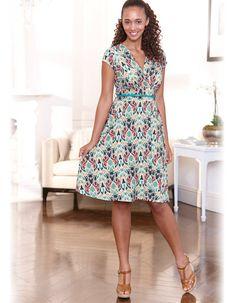 Jersey Full Skirt Dress by Pepperberry