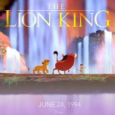 The Lion King took the spotlight on this day in 1994.