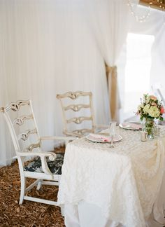sweetheart table | #wedding