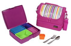 Project Junior Picks: Cool, functional lunch boxes {we love this laptop style case and bento boxes}