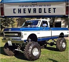 Cars classic chevy autos 62 Ideas for 2019 Lifted Chevy Trucks, Classic Chevy Trucks, Gm Trucks, Chevy Pickups, Chevrolet Trucks, Cool Trucks, Pickup Trucks, Chevy Classic, Lifted Dodge