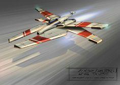 X-Wing concept by Turi Cacciatore