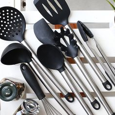 Best Cooking Utensils, Kitchen Utensil Set, Stainless Steel, Modern, Trendy Tree