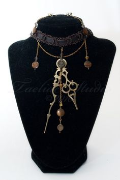 The Antiquated Carapace - A Very Unique Steampunk Jewelry Set