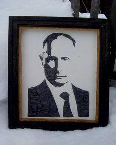 Портрет Путин. #стимпанк #лица #люди #путин #арт #рисунок #steampunk #фото