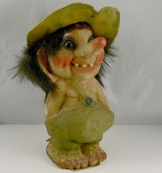 Vintage Norwegian NyForm Troll 117 With Tag by jujubeezcloset, $20.00
