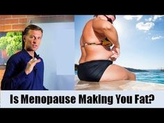 Menopause makes you fat because of estrogen dominance, which triggers cortisol and leads to muscle atrophy. Here's how to combat these issues Dr Eric Berg, Dr Berg, Hypothyroidism Diet, Thyroid Diet, Thyroid Health, Health Diet, Start Losing Weight, Lose Weight, Weight Loss