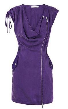Purple Karen Millen Dress