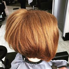 Who doesn't love a choppy bob? Our Newbury Graduate Stylist Lilly did this hairstyle and she's done such a great job.