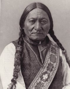 Portrait of Sitting Bull was made by William Not-man at his Montreal studio in 1885