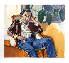 The Accountant (Marvin)   From a unique collection of figurative prints at https://www.1stdibs.com/art/prints-works-on-paper/figurative-prints-works-on-paper/