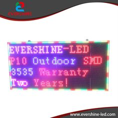 "2017 New P10 full color outdoor advertising painel de led <font><b>publicidade</b></font> screen size 960x640mm 38"" x 25.2"""