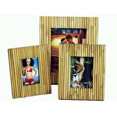 """Bamboo Fence Picture Frame Size: 8"""" x 10"""" by Bamboo, http://www.amazon.com/dp/B004JKPOFS/ref=cm_sw_r_pi_dp_yp5cqb09HKYCZ"""