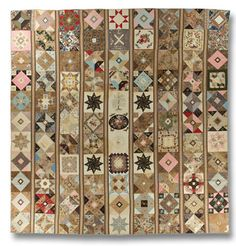 From the International Quilt Study Center and Museum: Album  Maker unknown  Philadelphia, Pennsylvania, dated 1842 and 1843  IQSC 2005.059.0001, Purchase made possible through the James Foundation Acquisition Fund