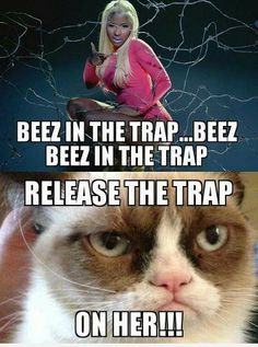 Beez in the trap..  Kick Ass Song ....Love Nicki...not afraid to be what ever she wants too.