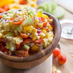 Fresh Sweet Corn Salad - Tried and Tasty