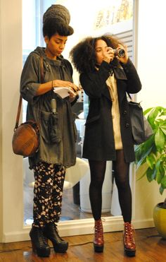 heyfranhey:    Cipriana & Nikisha <3  Urban Bush Babes