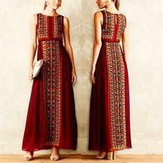 Women's Fashion Dresses, Hijab Fashion, Boho Fashion, Fashion Design, Chic Dress, Dress Up, Batik Fashion, Batik Dress, Indian Designer Wear